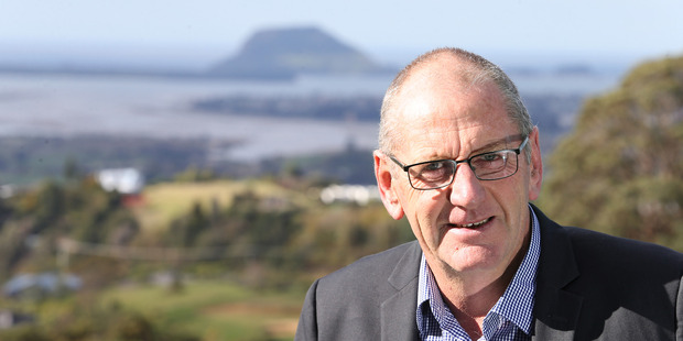 IN THE RUNNING: Western Bay of Plenty District Council mayoral candidate, Don Thwaites. PHOTO/John Borren
