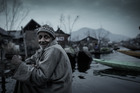 Giora Dan's photograph of the pre-dawn floating market on Lake Dal in Kashmir, India, won the prize for Best Unpublished Travel Image. Photo / Supplied