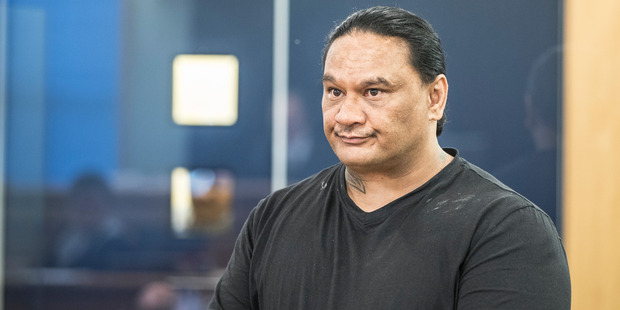 Darrell Dunn appeared at the Auckland High Court today on the charge of manslaughter. Photo / Michael Craig