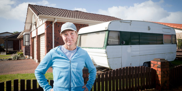 Loading Judy Randell has had to ask her friend to move out of her caravan because of a Tauranga City Council regulation limiting caravan stays to three months. Photo/Andrew Warner