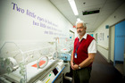 Paediatrician Dr Simon Rowley from Auckland's Neonatal Intensive Care Unit. 6 September 2016 New Zealand Herald Photograph by Dean Purcell