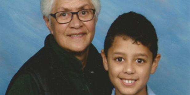 Terry Kopu has raised her great grandson Kuldeep Singh since he was six weeks old, he is now 9. PHOTO/SUPPLIED