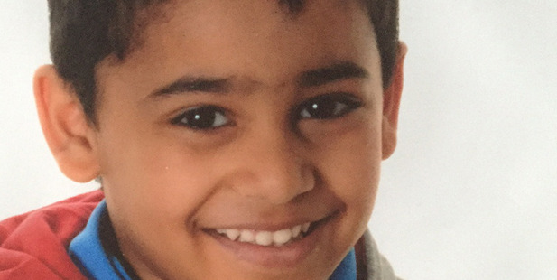 Nine-year-old Aryan Banerjee died peacefully in his parents' arms in September last year. Photo / Supplied