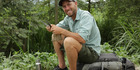 Discovery Channel's Free Ride host Rob Greenfield in Ecuador.