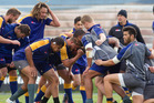 TOUGH TIMES: Steamers training at Rotorua this week has been very physical. PHOTO: BEN FRASER 070916bf16