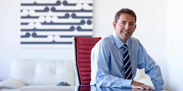 Fletcher Building CEO Mark Adamson.