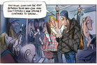 The gap between rich and poor continues to grow in NZ. Illustration / Rod Emmerson