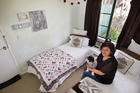 HOME: Huia Ketcham has three empty rooms she would like to offer to someone in need. PHOTO/BEN FRASER