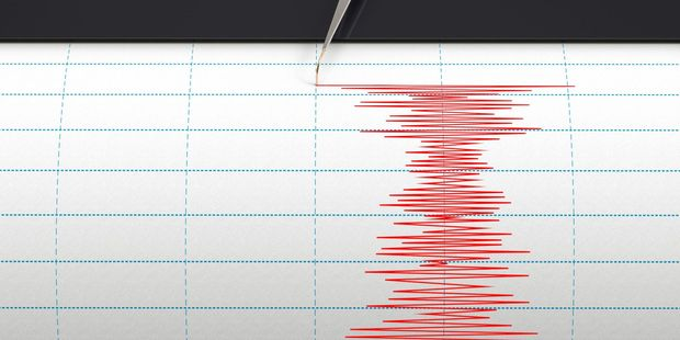 The 80km-deep earthquake struck off the west coast of the North Island. Photo / File