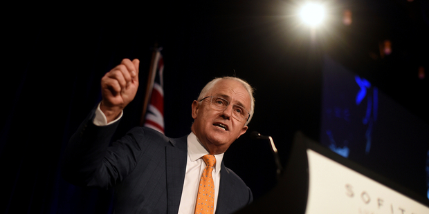 The failure of Malcolm Turnbull's government to raise GST above 10 per cent has caused friction with the business lobby. Photo / AAP
