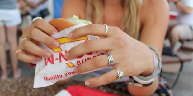 In-N-Out Burger. Photo / Instagram, @leannakrueger