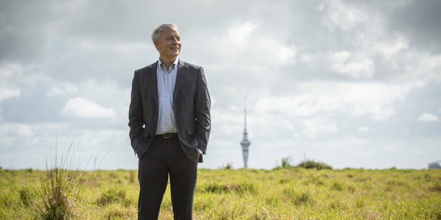 Auckland City mayoral candidate Phil Goff wanted to see consents to remove heritage trees publicly notified. Photo / Dean Purcell