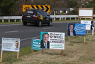 Election signs start to appear around Tauranga. Photo/file