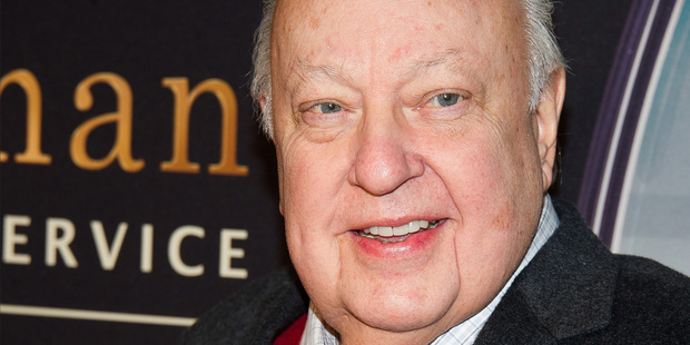 "FILE - In this Feb. 9, 2015, file photo, Roger Ailes attends a special screening of ""Kingsman: The Secret Service"" in New York. Former Fox News Channel anchor Gretchen Carlson has settled he"