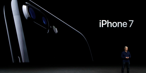 Loading The recent launch of Apple's iPhone 7 was a quiet affair compared to the launch of the first iPhone a little more than nine years ago. Photo / AP