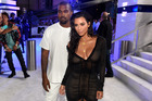It turns out Kim ordered the slushie machines for Kanye's tour rider on his behalf. Photo / AP