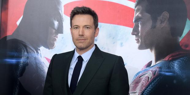 Actor Ben Affleck stars as Batman in the DC film franchise. Photo / AP
