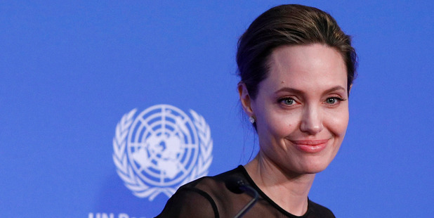 """UN Special Envoy Angelina Jolie called for justice to be delivered to women in the field as the world grows disillusioned with """"commitments on paper that are not met in reality"""". Photo / AP"""