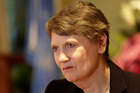 In the fourth straw poll Helen Clark received six 'encourage' votes, seven 'discourage' and two 'no opinion' vote. Photo / AP