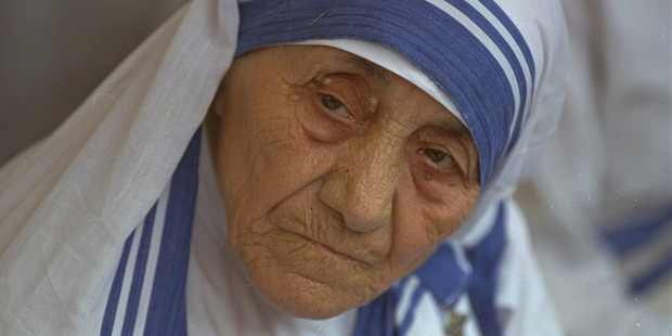 Loading Mother Teresa, head of Missionaries of Charity, photographed in New Delhi, India in 1993. Photo / AP