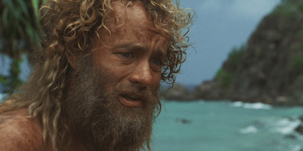 Tom Hanks found himself stranded in 'Cast Away'. Photo / Supplied