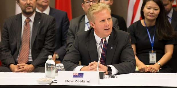 Trade Minister Todd McClay was handed a toxic portfolio by his predecessor. Photo / File