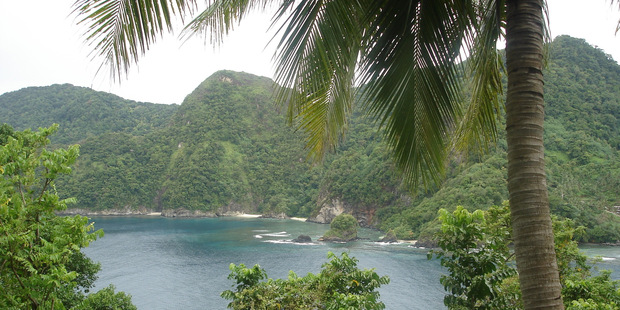 American Samoa has abundant natural beauty, but some of the villages seem a little artificial. Photo / Angela Gregory