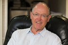 Former political leader Don Brash at his apartment in Auckland. Photo / Greg Bowker