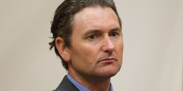 Loading Quinton Winders, 45, found guilty of the murder of stop-go road worker George Taiaroa.  Photo/Stephen Parker.
