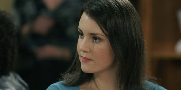 Melanie Lynskey in Two and a Half Men. Photo / File.