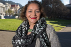 Maori Party list MP Marama Fox in her office at Parliament, Wellington. Photo / Mark Mitchell