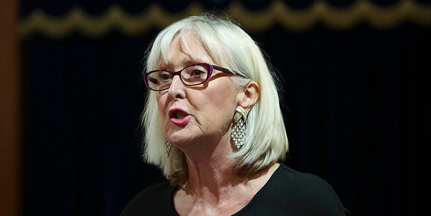 Christine Rankin. Photo / Chris Loufte
