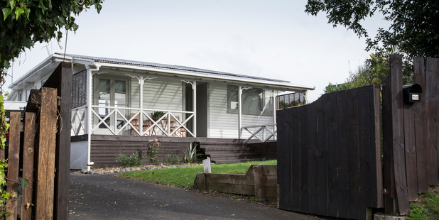 The Real Estate  Agents Authority is investigating the frenzied series of transactions surrounding the sale of the Hepburn Rd cottage. Picture / Greg Bowker