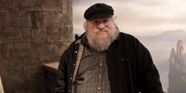 George RR Martin, Game Of Thrones author. Photo / NZ Herald
