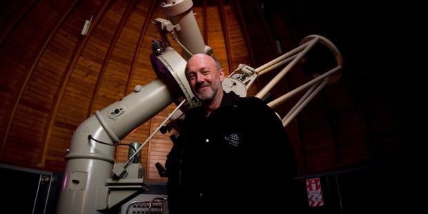 Stardome Observatory astronomer Dr Grant Christie. Photo: File