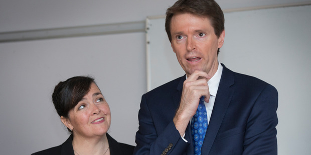 Former Conservative Party leader Colin Craig and wife Helen Craig.