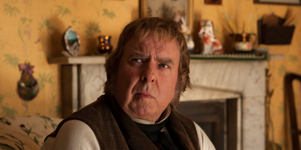 Harry Potter star Timothy Spall, seen here in Mr Turner, is one of a stellar line-up of actors set to star in The Changeover, which begins filming in Christchurch this month. Photo / File.