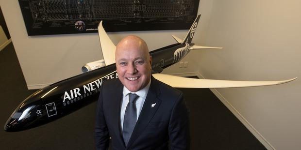 Air New Zealand chief executive Christopher Luxon. Photo / Brett Phibbs
