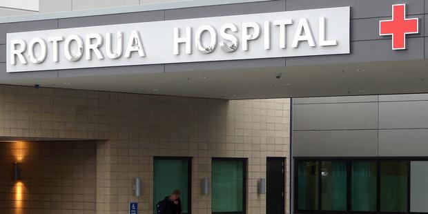 Rotorua Hospital. PHOTO/FILE