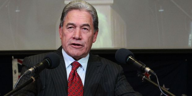 "New Zealand First leader Winston Peters and his party are giving a lesson in what it means to be ""anti-everything"".  Photo / Hawke's Bay Today"