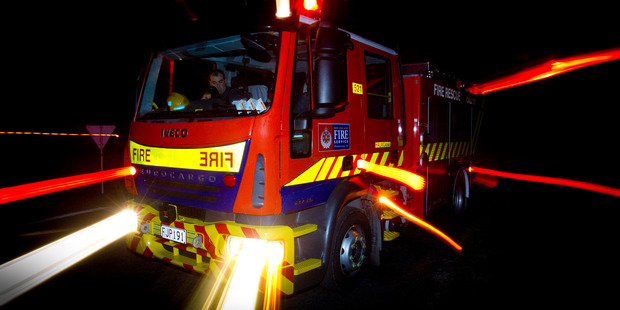 Six fire engines were sent to the blaze. Photo / File