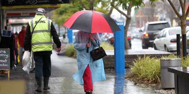Loading Rain and wind are set to hit Hawke's Bay today.