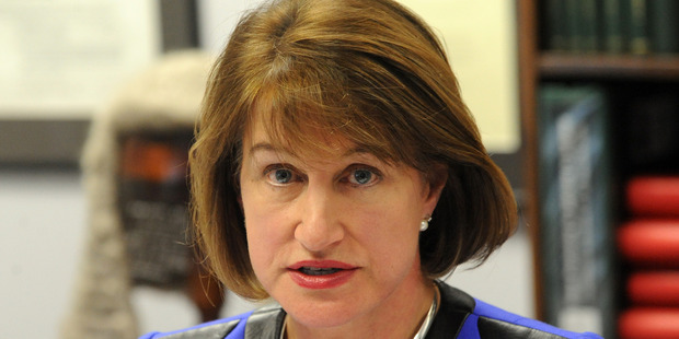 Dame Lowell Goddard will submit a written report after efforts by the Home Affairs Select Committee to meet her failed. Photo / NZPA / Ross Setford