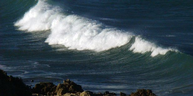 Loading Monster waves are set to slam the coasts of both islands this week.  Photo / NZME