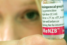 The meningococcal B-strain vaccine was made specially for New Zealand's epidemic. Photo / Tania Webb