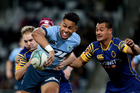 ROOKIE: Solomon Alaimalo has been one of the finds of the Mitre 10 Cup season, adding impetus from the backfield. Dianne Manson/Getty Images