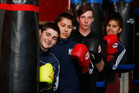 Northland boxers after their return from a successful Golden Gloves championships. From left, Harrison Knew, Olivia Siakisini, Luke Feaver and Deanne Carpenter. Photo/John Stone