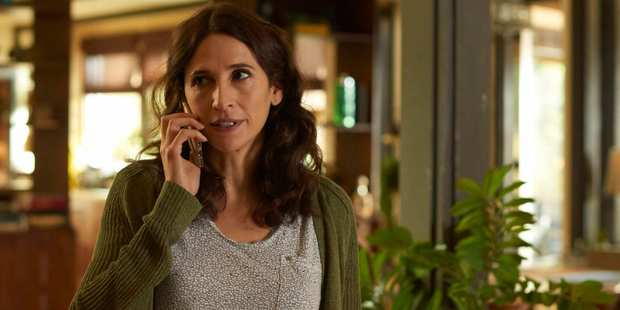"Michaela Watkins says her character's awkwardness it just ""honest"". Photo / Supplied"