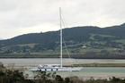 The world's biggest single-mast superyacht is in Whangarei for maintenance.