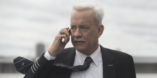 Actor Tom Hanks takes on the role of pilot Chesley 'Sully' Sullenberger in the movie, Sully.
